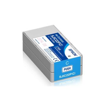 SJIC22P(C): ColorWorks C3500 tintapatron (Cián)