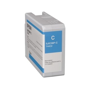 SJIC36P(C): ColorWorks C6500/C6000 tintapatron (Cián)