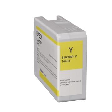 SJIC36P(Y): ColorWorks C6500/C6000 tintapatron (Sárga)