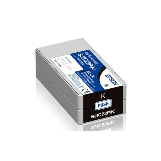 SJIC22P(K): ColorWorks C3500 tintapatron (Fekete)