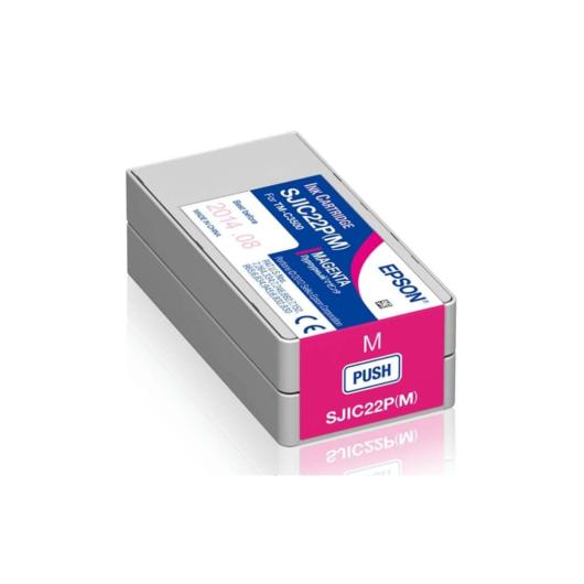 SJIC22P(M): ColorWorks C3500 tintapatron (Magenta)