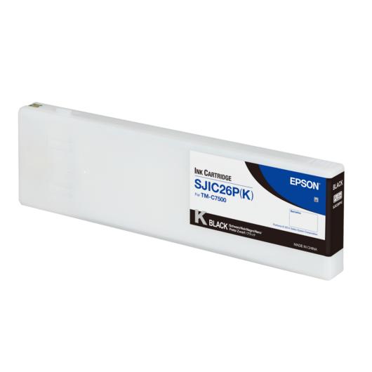 SJIC26P(K): ColorWorks C7500 tintapatron (Fekete)