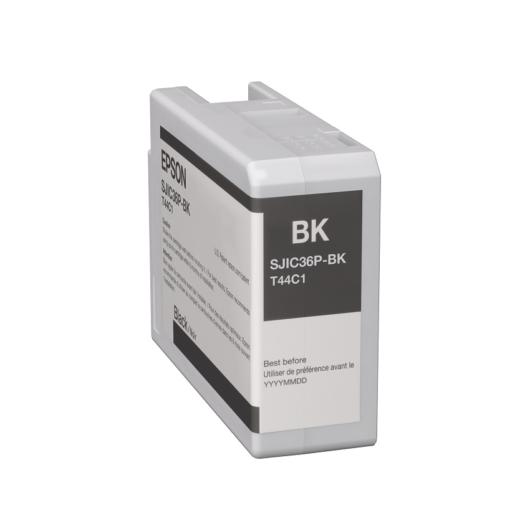 SJIC36P(K): ColorWorks C6500/C6000 tintapatron (Fekete)