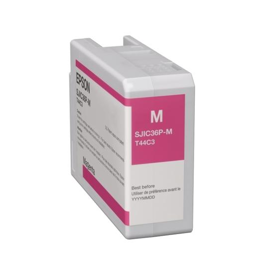SJIC36P(M): ColorWorks C6500/C6000 tintapatron (Magenta)