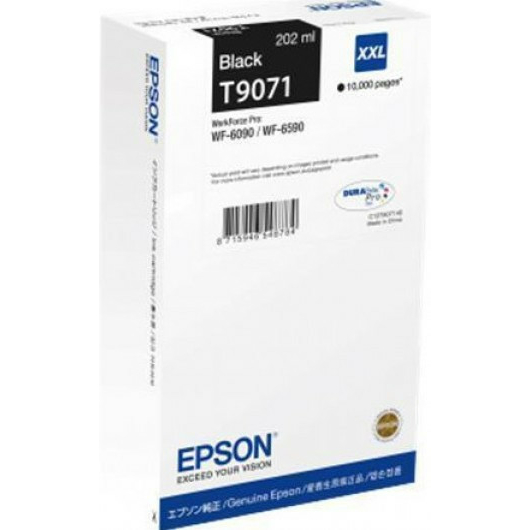 EPSON T9071 PATRON BLACK 10K (EREDETI)