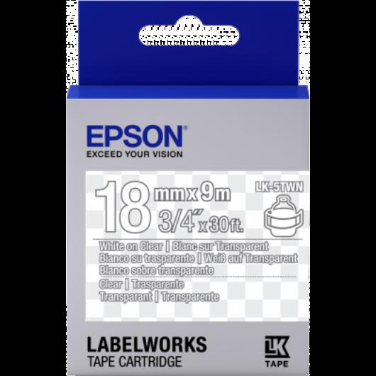 LK-5TWN áttetsző Fehér/áttetsző 18/9 (mm/m)